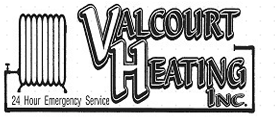 Valcourt Heating Inc., Logo